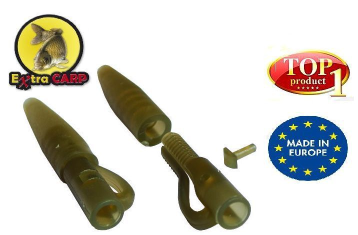 Závěska Extra Carp Lead Clip with Tail Rubber